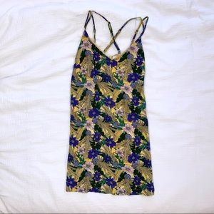 Urban Outfitters Yellow Floral Sundress